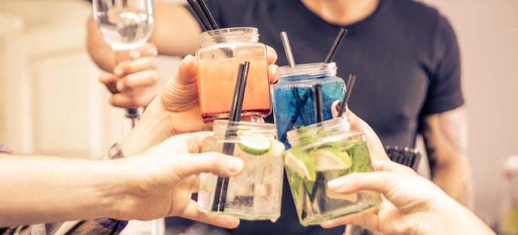 staff drinking