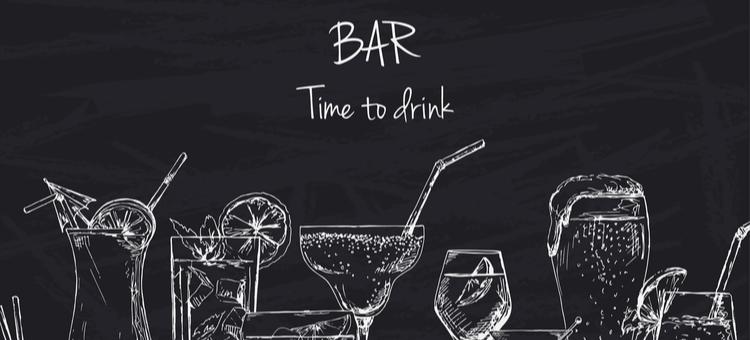 bar chalkboard signs