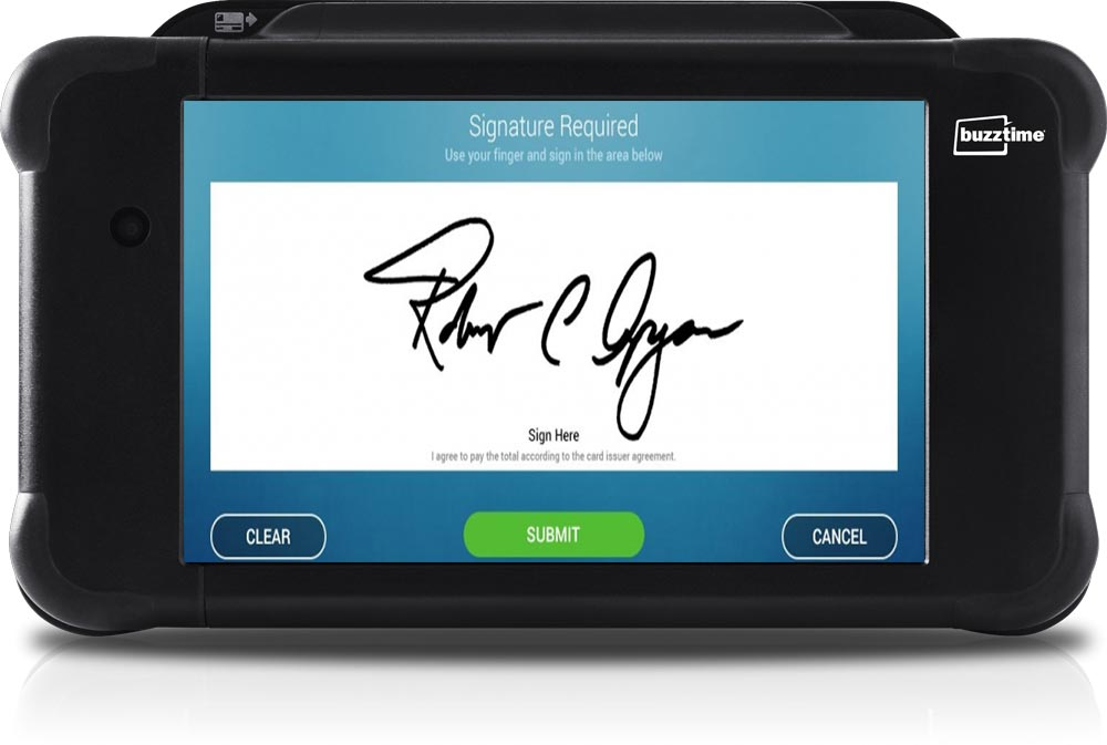 A Digital Signature on a Tablet