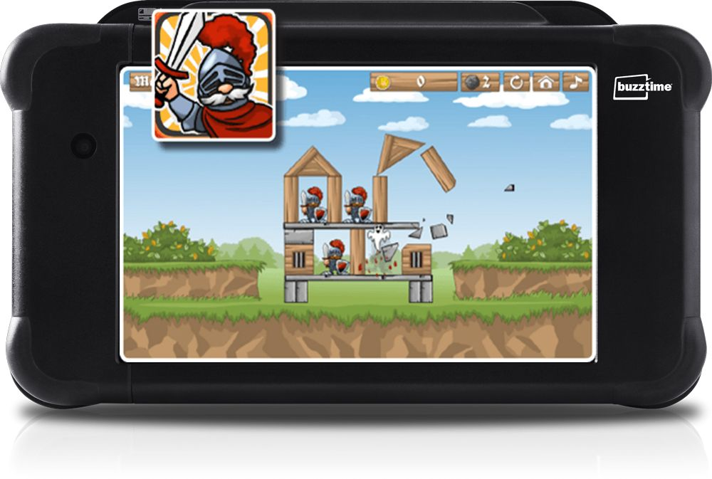 Tower Breaker Game and Icon in Tablet
