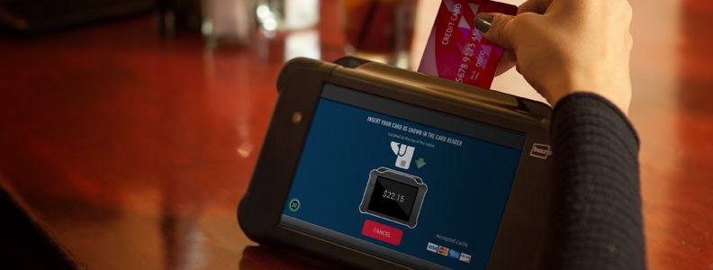 EMV with Buzztime Tablets