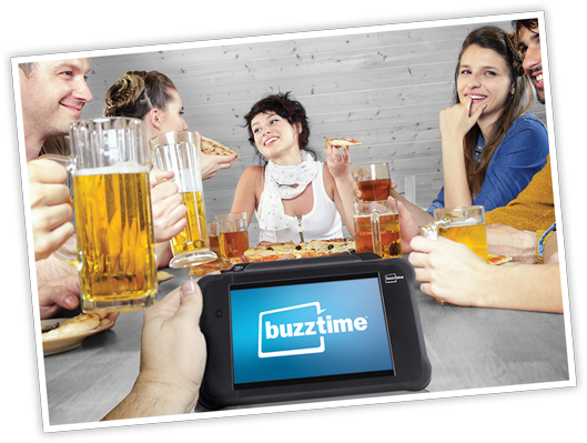 Use Buzztime to boost fun and enhance satisfaction at your venue
