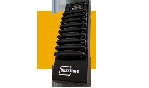buzztime charging rack
