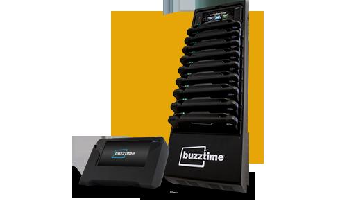 Buzztime Charging Racks