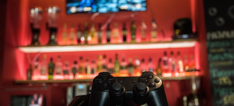 electronic bar games