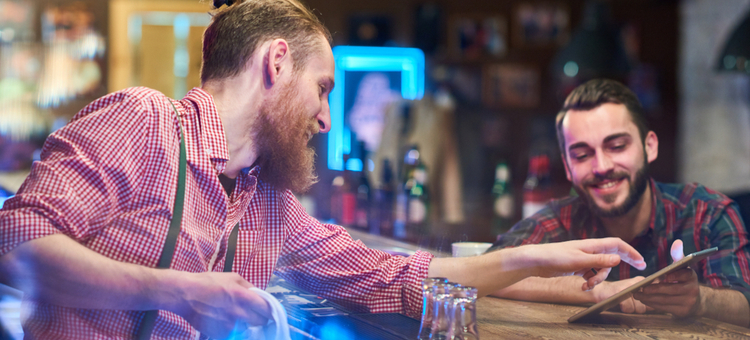 tabletop tablets for bars