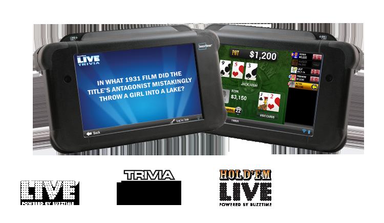 live trivia and poker