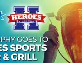 Buzztime's Smartest Bar. The Trophy Goes to Heroes Sports Bar & Grill