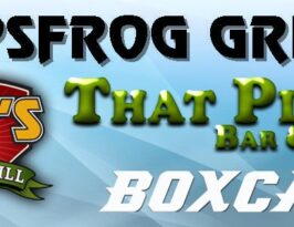 Hopsfrog Grille, Sam's Sportsgrill, That Place Bar & Grill, Boxcar