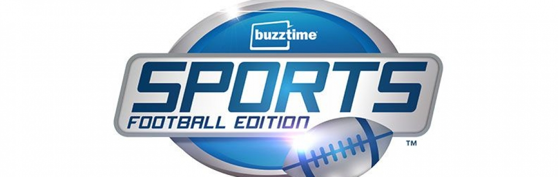 Buzztime Lets Pro Football Fans Show Their Pride & Demonstrate Their Gridiron Knowledge with New Buzztime Sports: Football Edition