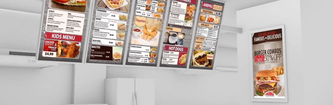Going Digital: The New Standard of Restaurant Signage