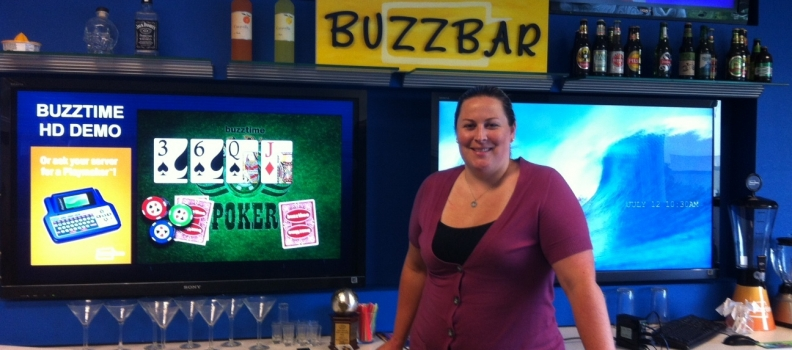 Behind the Scenes at Buzztime with Alexandra Gerritsen