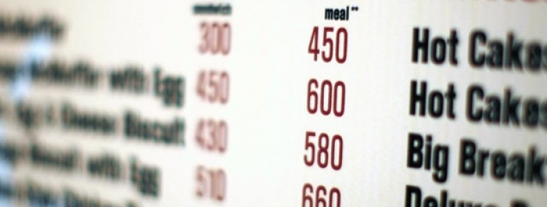 Calorie Labeling on Menus: Do They Help or Hinder Your Restaurant Sales?