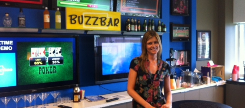 Behind the Scenes at Buzztime with Jenny Farnsworth