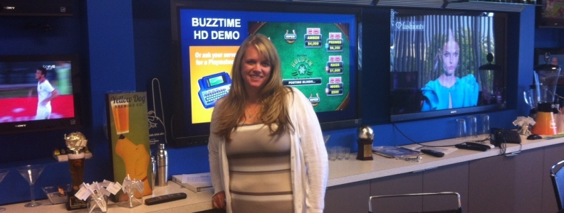 Behind the Scenes at Buzztime with Michelle Martinez